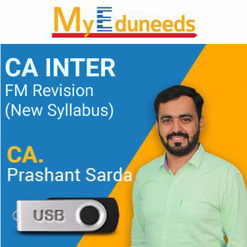 Picture of CA INTER FM Revision (New Syllabus)